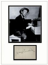 Hoagy Carmichael Autograph Signed Display
